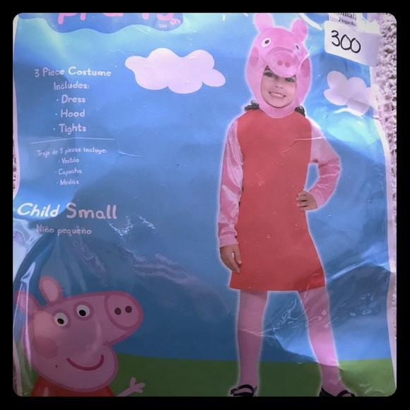 Costumes Girls Small 46 Peppa Pig Costume Poshmark